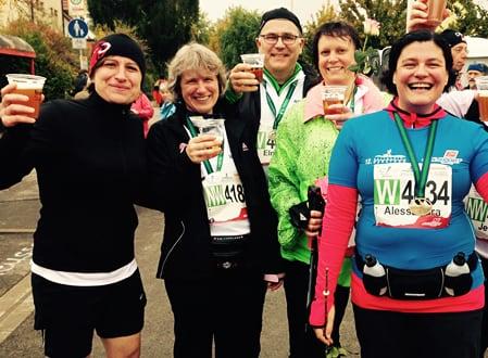 Lauf- und Trainingskonzept mit Kerstin Laib - Allianz Stuttgart