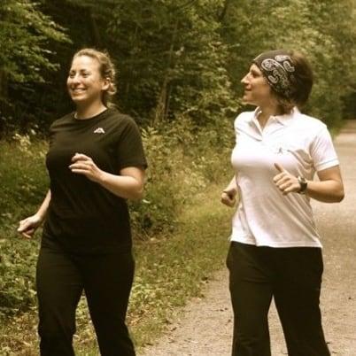 Ausdauertraining im Wald und Personaltraining - Kerstin Laib Stuttgart