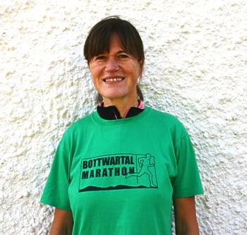 Der erste Halbmarathon von Sybille Schapmann - Referenz Kerstin Laib